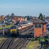 Northern Belle in platform 1 at Kidderminster Town