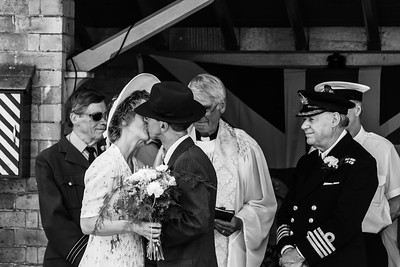 1940s wedding, Arley