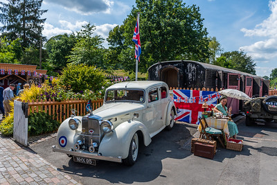 1940s weekend - Arley station