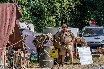 1940s scenes at Highley station