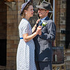 1940s Wedding, Arley Station