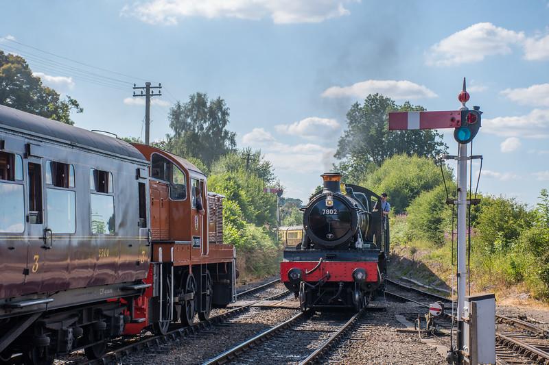 D9551 & 7802, Arley