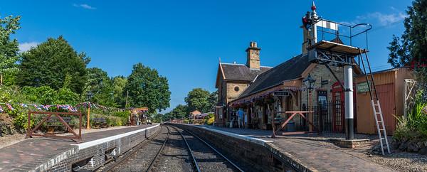 Arley Station - SVR 1940s Weekend 2018
