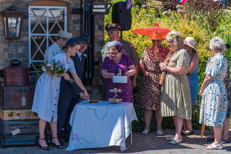 1940s Wedding, Arley Station
