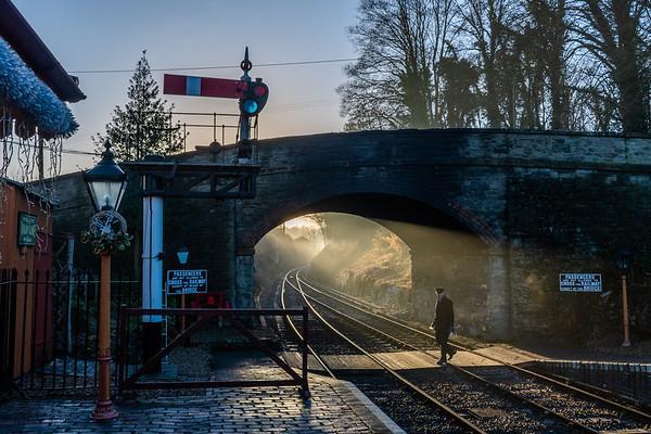 Santa Sunrise - Arley Station