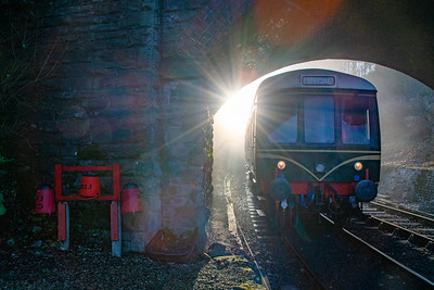 Sunrise DMU - Arley Station