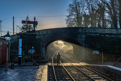 Santa Sunrise - Arley Station
