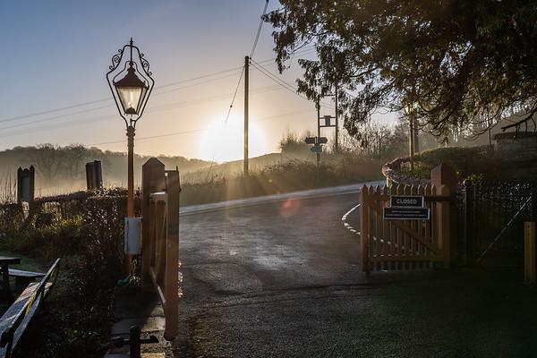 Sunrise at Arley Station