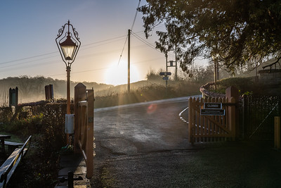 Sunrise at Arley Station