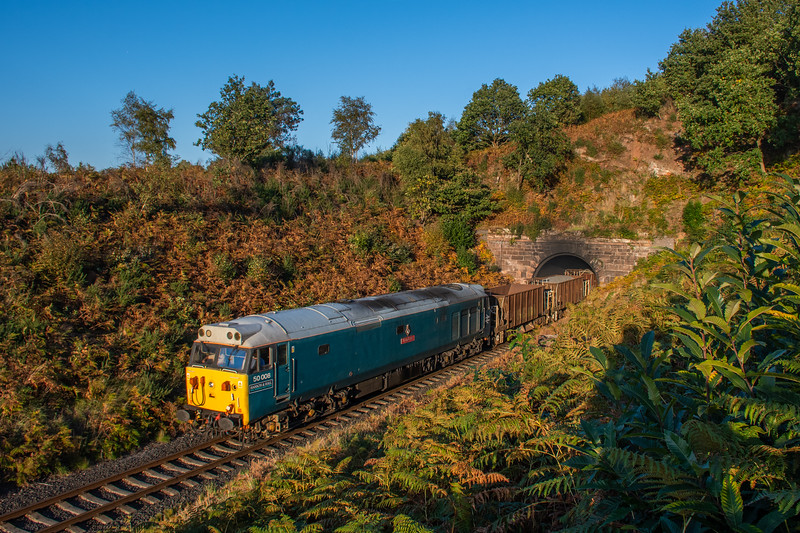 50008, Bewdley Tunnel