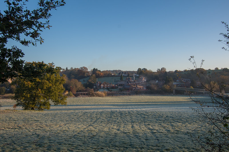 Upper Arley - a crisp winters morning
