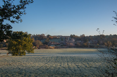Upper Arley - a crisp winters morning