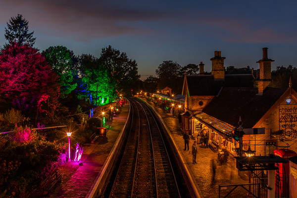 Ghost Trains - Arley Station