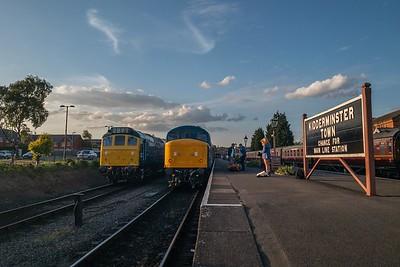 25185 & 46106, Kidderminster Town