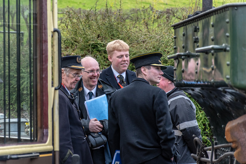 SVR Staff - Arley Station