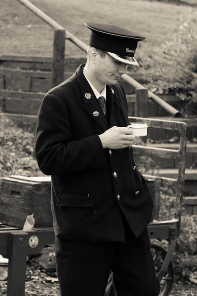 Train Guard - Arley Station