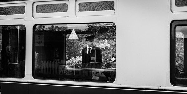 Arley Station Porter - Severn Valley Railway