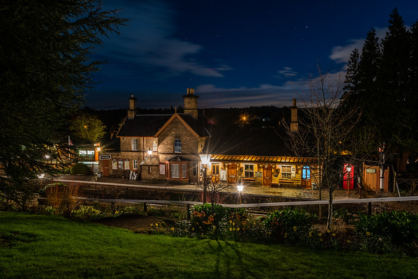 Arley, SVR by Night