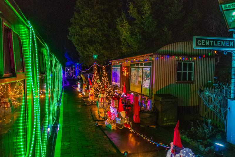 Steam in Lights - Severn Valley Railway