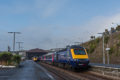 221121 & 43023 at Penzance