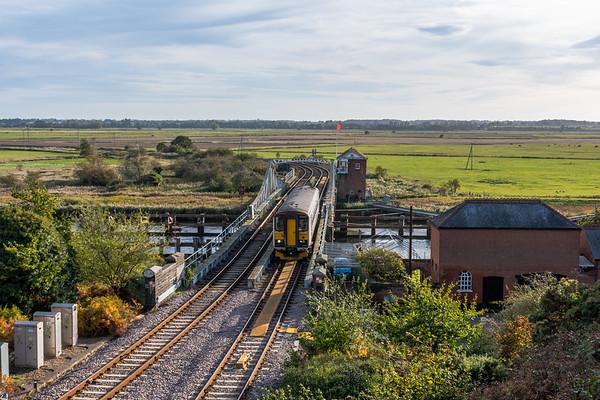 153314, Reedham Swing Bridge