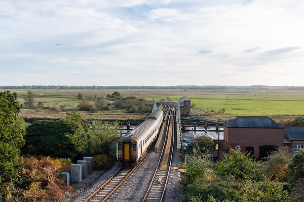 156402, Reedham Swing Bridge