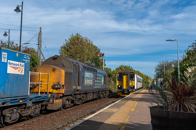 153314 crosses RHTT at Acle