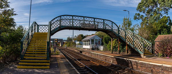 Acle Signalbox & Footbridge