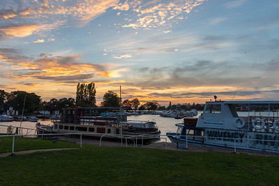 Oulton Broad - Sunset