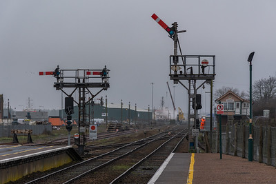 Lowestoft - Semaphore Signalling