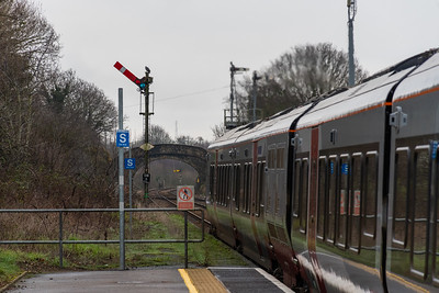 755420 departs Oulton Broad North