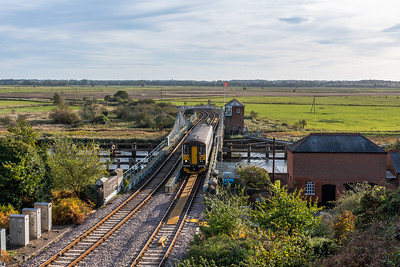 153314, Reedham Swing Bridge