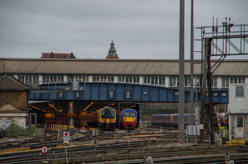456015 & 444013, Clapham Junction Depot