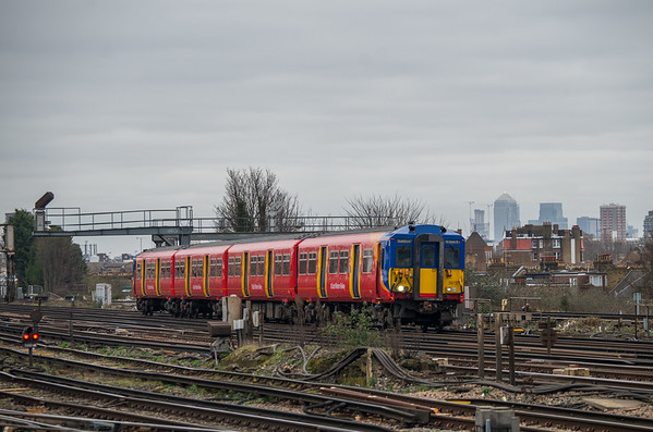 SWR Class 455872, Clapham Junction