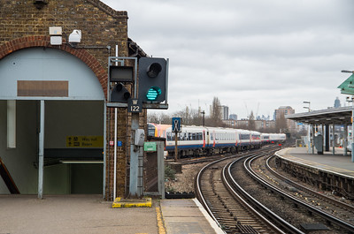 W122 & SPAD Indicator, Clapham Junction