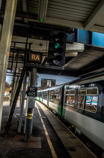 RA - Class 455, Clapham Junction