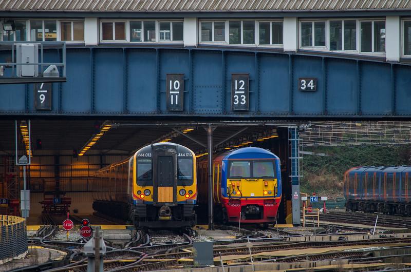 456015 & 444013, Clapham Junction