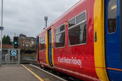 Class 455, Clapham Junction