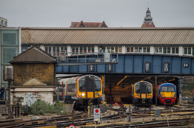 444013/20 & 456015, Clapham Junction