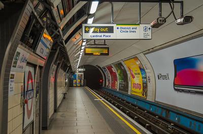 Victoria tube station (Victoria Line)
