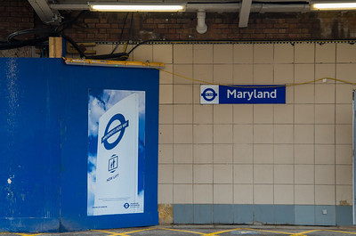 Improvement works at Maryland station