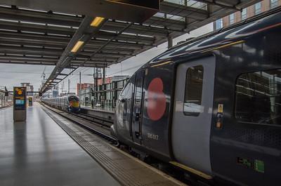Class 395, St Pancras International (395017 & UID 395xxx)