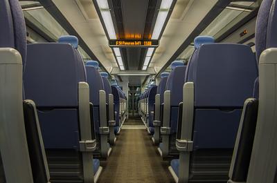 Class 395, St Pancras International (Interior)