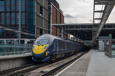 Class 395, St Pancras International (395026)
