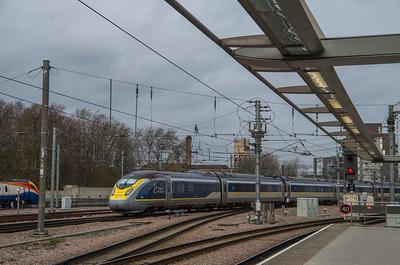 Class 374 Eurostar, St Pancras International