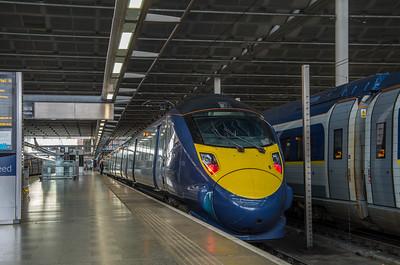 Class 395, St Pancras International