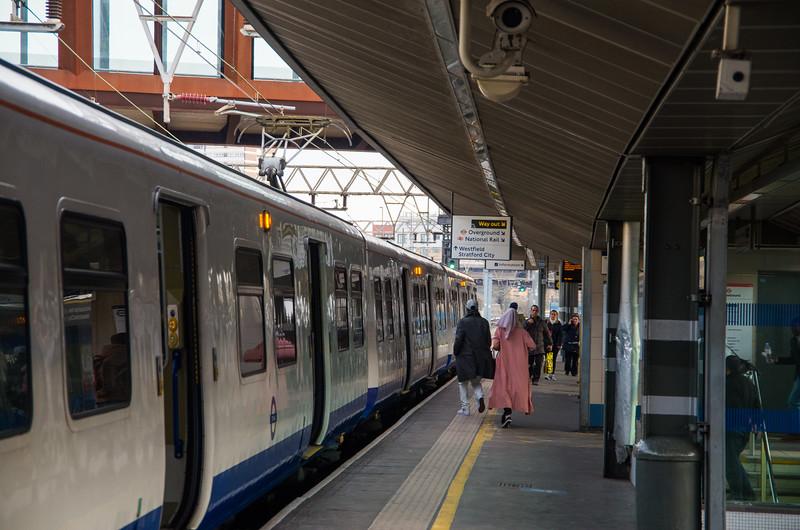 Class 315 (TfL Rail), Stratford