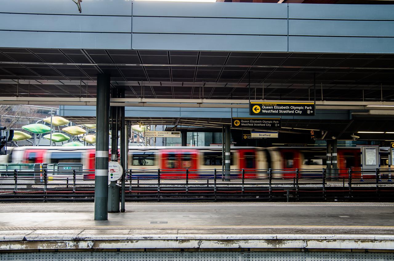Jubilee Line, Stratford