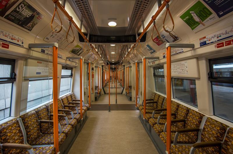 Class 378 (Interior shot), Stratford