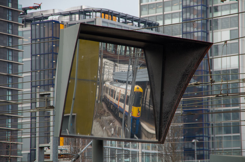 Reflections: Class 378, Stratford